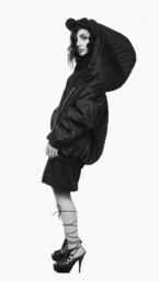 AW13 - Hoodiedress Jacket